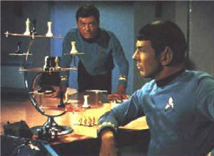 They played chess to see who would tell Kirk.